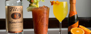 Bloody Mary and Mimosa