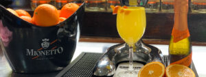 Mimosa fresh squeezed juice